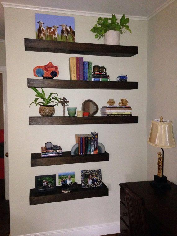 Makeup Vanity Floating Shelf – Wall Shelves – Bathroom Shelves – Chunky Shelves – Hanging Shelf – Wood Shelves – Rustic Home Decor