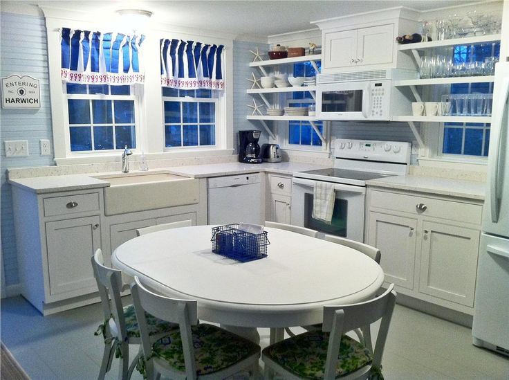 288 best cape cod kitchens images on pinterest cape cod for Nantucket style kitchen
