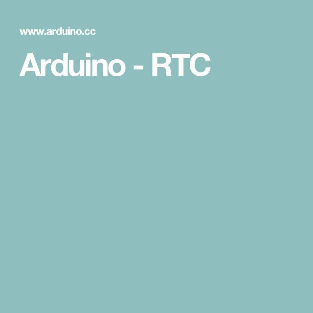Arduino - RTC
