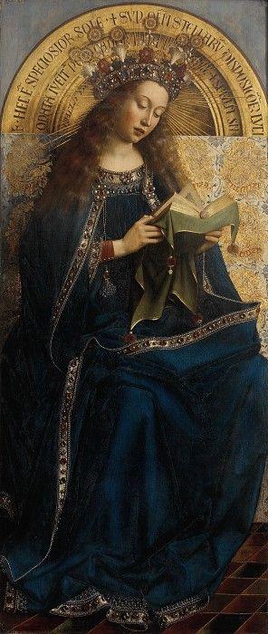 Дева Мария. Ян ван Эйк