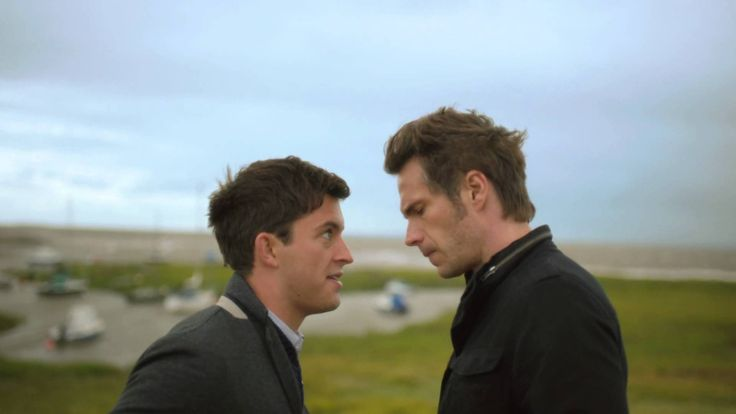 """James D´Arcy on """"Broadchurch"""", deleted scene ep. 5."""