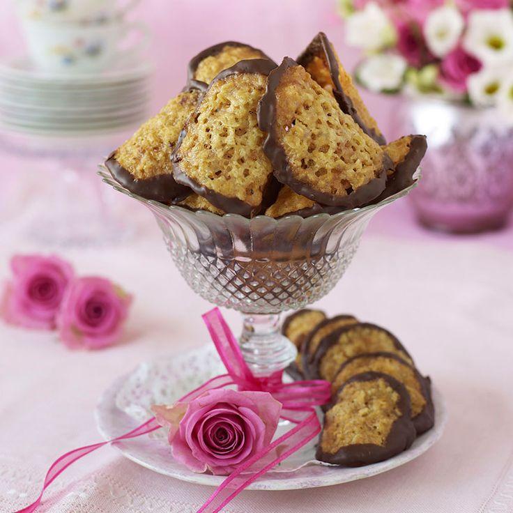 Knäckiga Havreflarn - Enkla och goda kakor med ingredienser som man oftast har hemma.