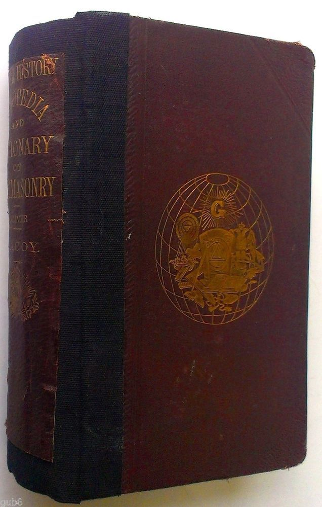 For Sale:  1869 RARE ANTIQUE FREEMASONRY BOOK Masonic Freemason ** SIGNED BY ROBERT MACOY *