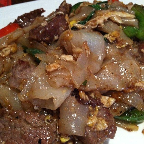 Drunken Noodles - Thai.
