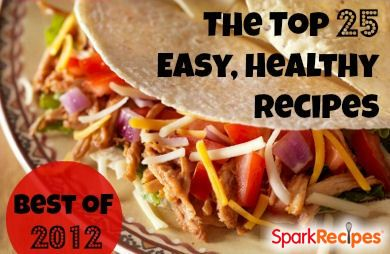 The 25 Most Popular HEALTHY @SparkPeople Recipes | #food #nutrition #diet