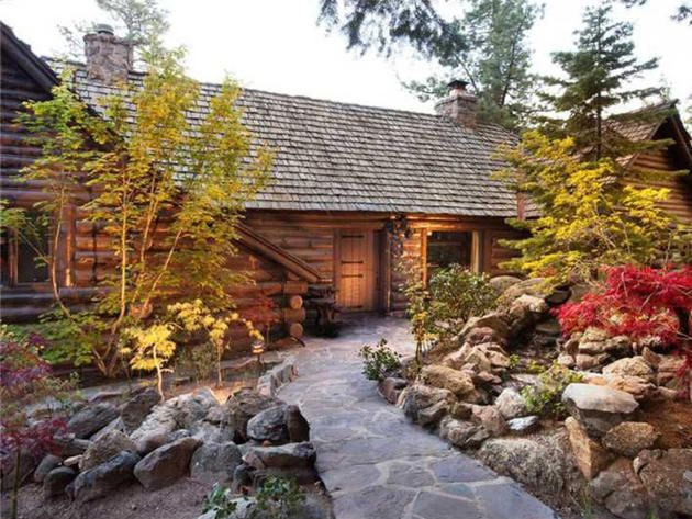 Tour Howard Hughes' former Lake Tahoe Estate - Known as Summertide, this 5.5 acre estate offers 500 feet of lake frontage.