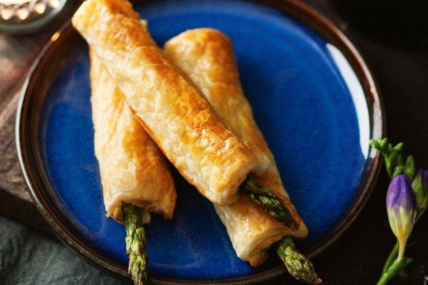 Asparagus puffs