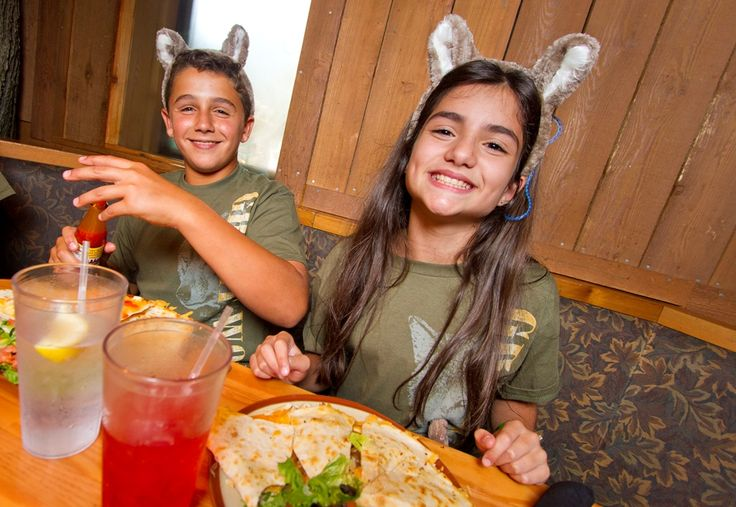 The Loose Moose Cottage at Great Wolf Lodge offers a menu ...