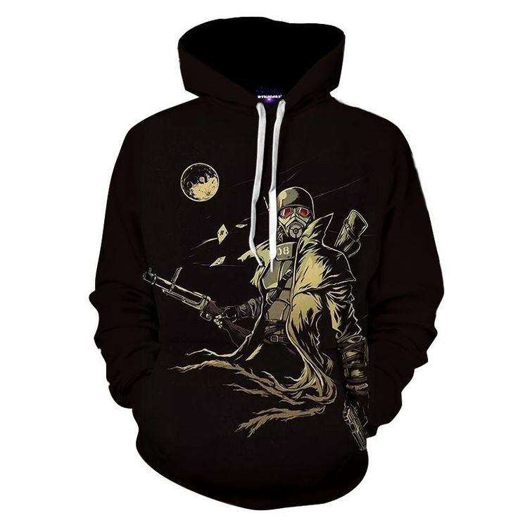 Fallout New Vegas Fan Art Design Cool Game Hoodie    #Fallout #NewVegas #Fan #Art #Design #Cool #Game #Hoodie