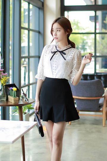 Nini Frill Skirt | Korean Fashion | STYLE | CLOTHES | Pinterest | Frill skirts Korean fashion ...