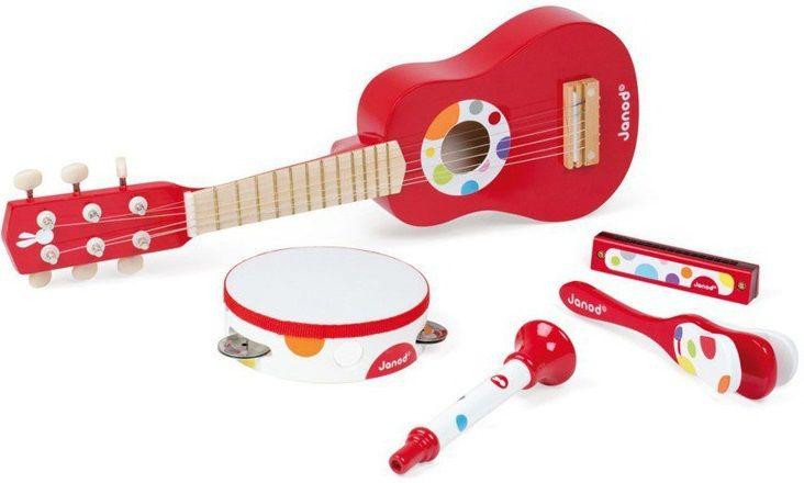 Cena: 230.00zł. Eksresowa wysyłka od ręki. ZESTAW MUZYCZNY - CONFETTI francuskiej firmy Dla... więcej na www.Tublu.pl #tublu #tublu_pl #zabawka #zabawki #dla #dzieci #toy #for #kid #janod #music #tamburyn #tambourine #gitara #guitar