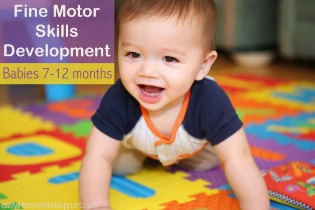 Fine Motor Skills Milestones & Development for Babies 7-12 months old | Early Intervention Support