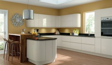 Pronto Gloss Cream Kitchen - By BA Components