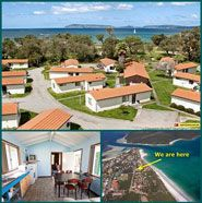 Havana Villas Emu Point   Fall asleep to the sounds of the ocean, in a peaceful garden setting, only 80m from Emu Beach, the location is just amazing! Relax in one of our 17 peaceful, comfortable chalets with 2 bedrooms, one double with ensuite and one with 2 sets of single bunks which can be closed off for privacy, some chalets can sleep 9 people.