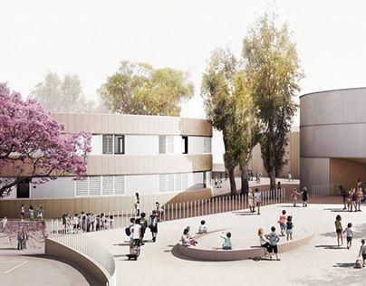 New Polivalent Pavillion for the Lycée Français