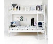 Seaside hvit køyeseng fra Oliver Furniture | Sprell - veldig fine leker og barneromsinteriør