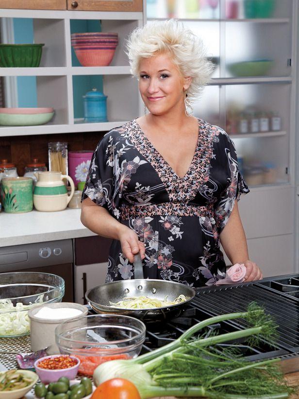 Blonde Female Chef Food Network