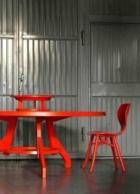 #Popov Dining #Tables Roderick #Vos #Linteloo, Netherlands - #Tulipani #Chair Roderick #Vos #Linteloo, Netherlands