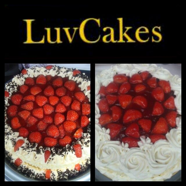 Fresh Cream Strawberry Gateau Www Facebook Com Luvcakesuk