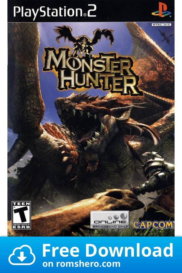 Download Monster Hunter Playstation 2 Ps2 Isos Rom Monster Hunter Playstation Playstation 2