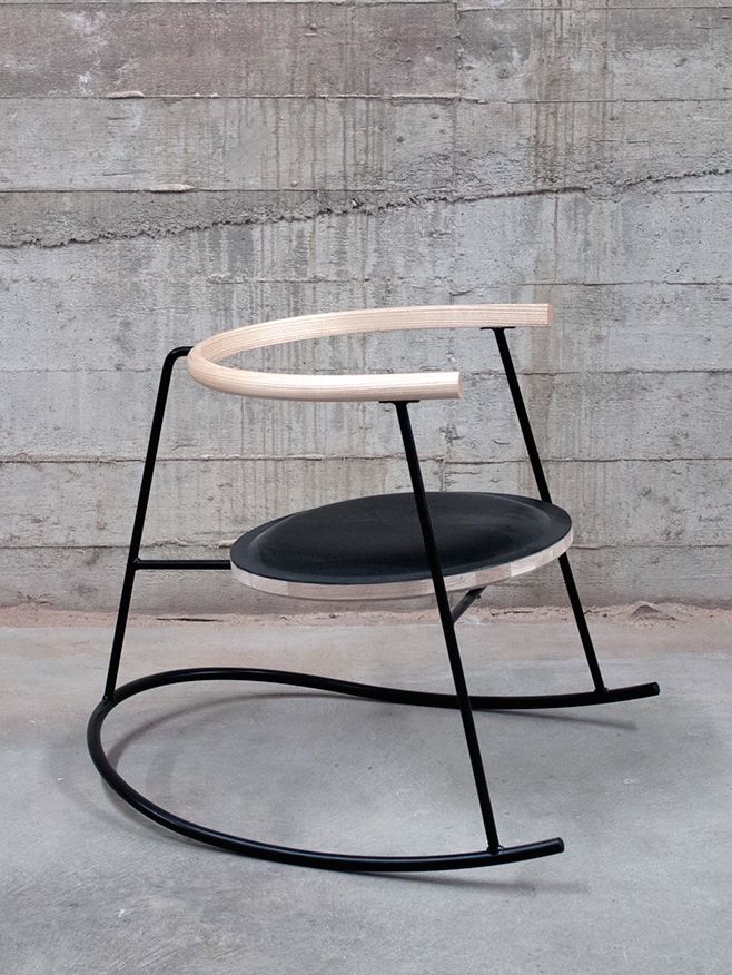Furniture designer is influenced by Japan and Scandinavia