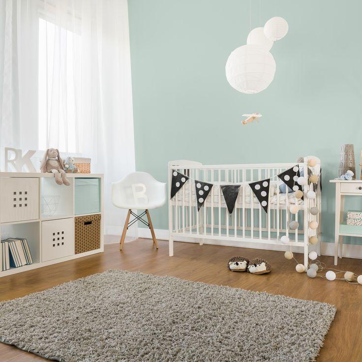 PEINTURE SICO | Dans la chambre de bébé, on cherche l'harmonie avec des tons légers et des agencements monochromes !