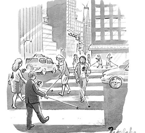 20 divertidos chistes gráficos sobre nuestra dependencia a las nuevas…