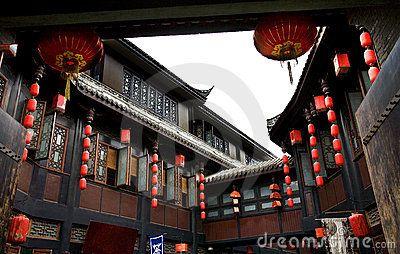 Ancient Jinli Street Chengdu Sichuan China