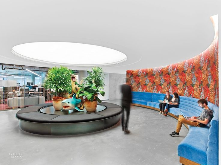 office space planning boomerang plan.  planning a custom walnut table stretches 40 feet through the library at dropbox  headquarters a rapt on office space planning boomerang plan l