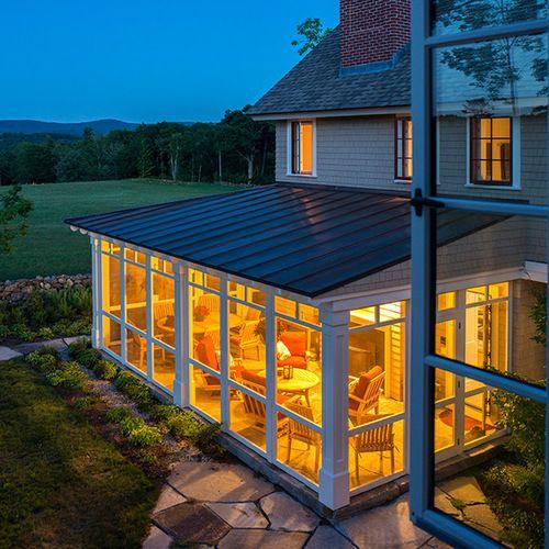 Traditional Three Season Porches Porch Design Ideas, Remodels & Photos