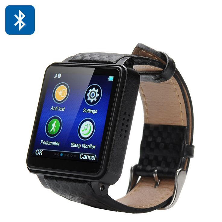 Bluetooth Watch Phone, Smartphone Pairing, Answers Calls,Camera