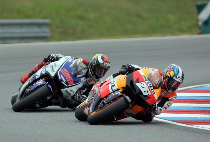 MotoGP 2012 - Brno - Pedrosa / Lorenzo