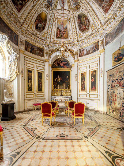 Capilla de las reliquias del palacio Pitti