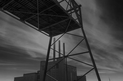 Fine Art Print • Photo Print • Monocrome • Nordhavn • Industrial •Crane • Copenhagen · Photo by EGON GADE ARTWORK on http://www.egongadeartwork.com