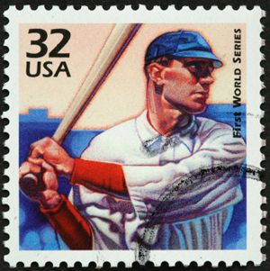 History of baseball via postage stamps! Baseball Unit Study  #unitstudies