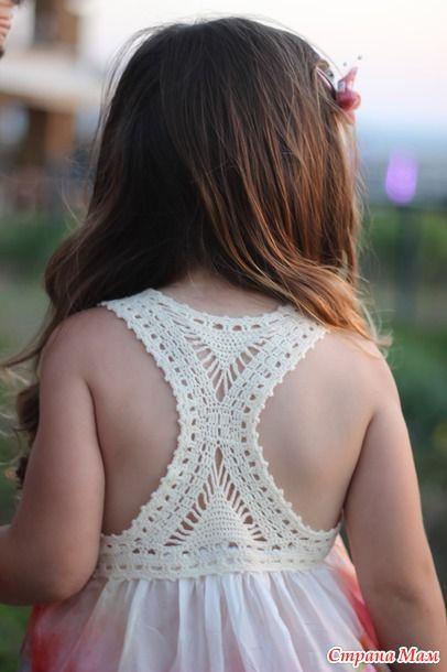 Комбинированное платье для Михаль