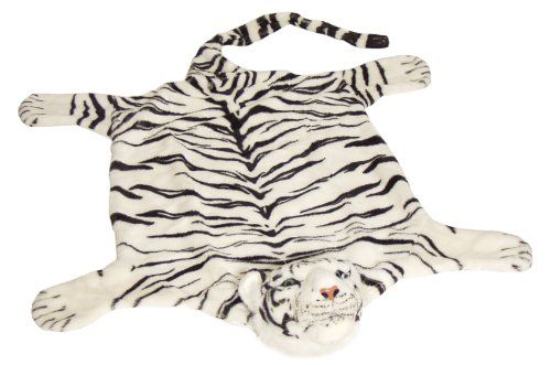BRUBAKER Huge White Tiger Rug 78x47 Inch BRUBAKER http://www.amazon.com/dp/B001QOKN7E/ref=cm_sw_r_pi_dp_JWoQub1A1W8X3
