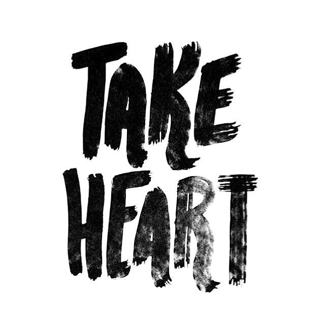""">> T a k e H e a r t. God has your life in His hands. I have said these things to you, that in Me you may have peace. In the world you will have tribulation. But take heart; I have overcome the world."""" -John 16:33 > > > #simplyhisdaughter #takeheart #havepeace #Hehasovercometheworld #happySunday #morningpost #morningvibes #startwithJesus #fallishereatlast #encouragement #motivation #inspiration #grace #truth #hope #love #joy #thankful #Christianliving #bediffernt #givemeJesus #Godissogo..."""