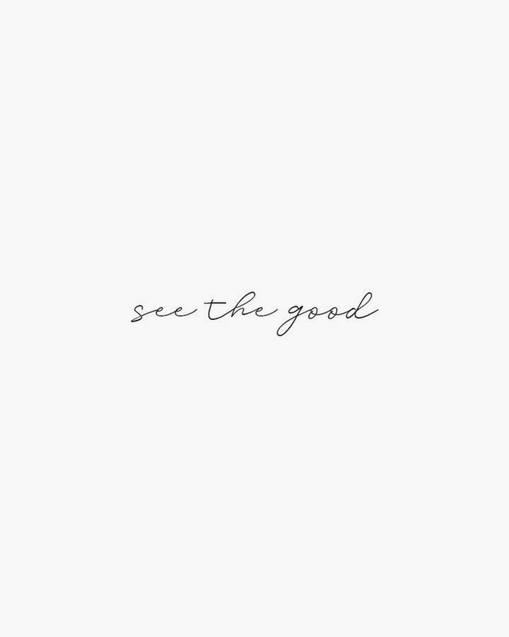 Train your mind and heart to see the good in every…