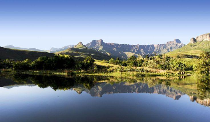 The beauty of Drakensberg Mountains.