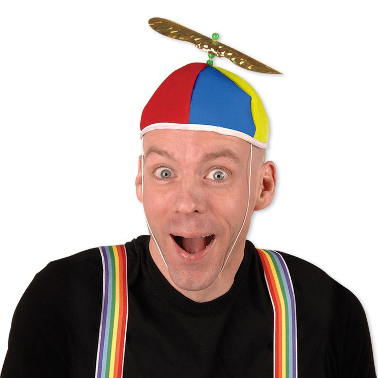 Propeller Beanie (1).  Feeling silly?  Get a little goofy with this Propeller Beanie hat.  one size fits most with elastic attached; price is per hat