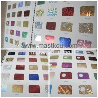 BRAND PAPER BAG: LOGO - various color foil treatment
