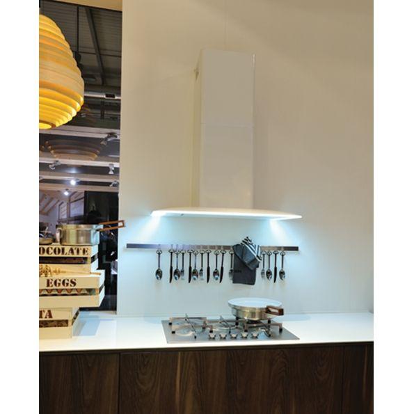 Vela NRS - Cappe Falmec - Cappe Moderne - Cappe aspiranti per cucina - Cappe di arredo in acciaio