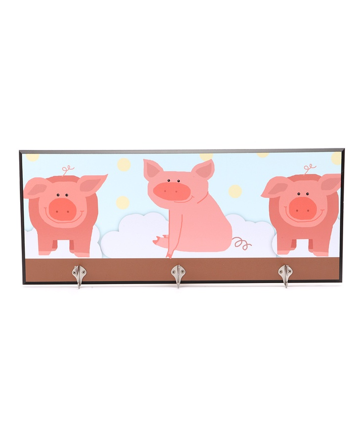 Baby Pigs Decorative Wall Hanger