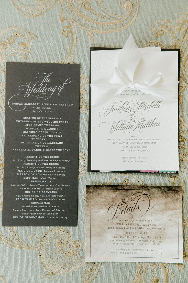 Hampton roads magazine wedding invitations