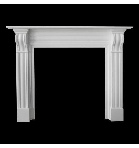 Fleetwood Timber Mantle (Kit Form), White