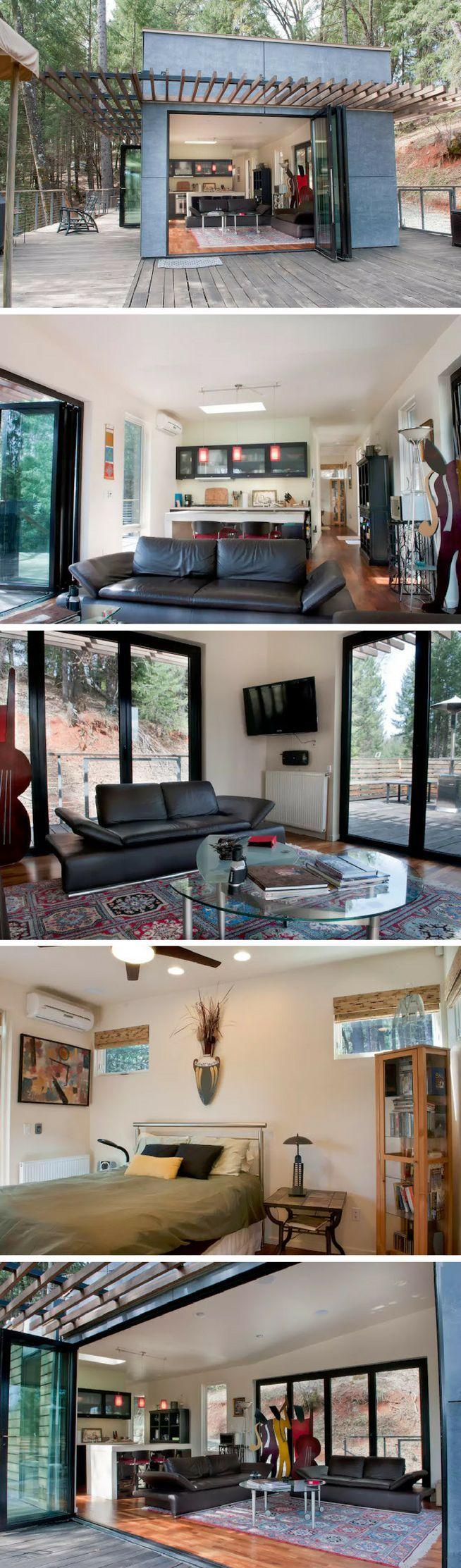 An award winning modern cabin in Grass Valley, California