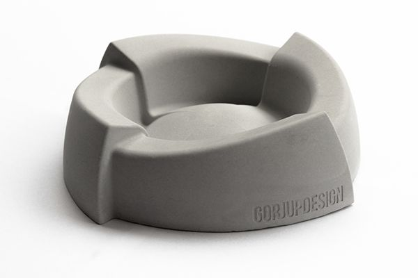 Concrete Ashtray by GorjupDesign on Industrial Design Served