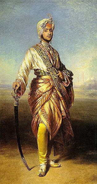"Franz Xavier Winterhalter 1854 ""Maharajah Duleep Singh"""
