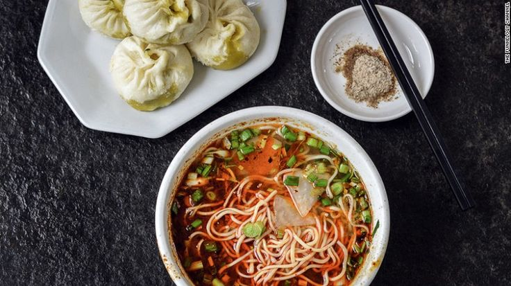 """""""We still dream about the noodles and dumplings of northwest China,"""" says the traveling duo. """"Unlike their southern counterparts, these noodles are the closest thing to reinforce the argument that pasta comes from China."""""""
